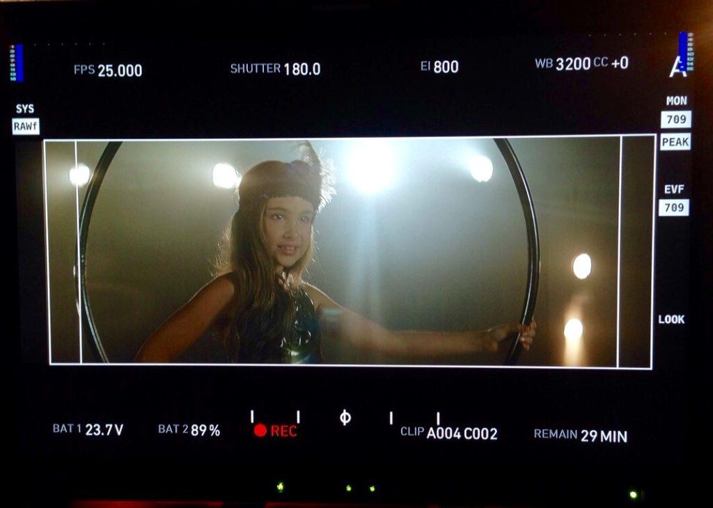 Александра Абрамейцева закончила съемки своего видео клипа на песню Rum Di Dum.