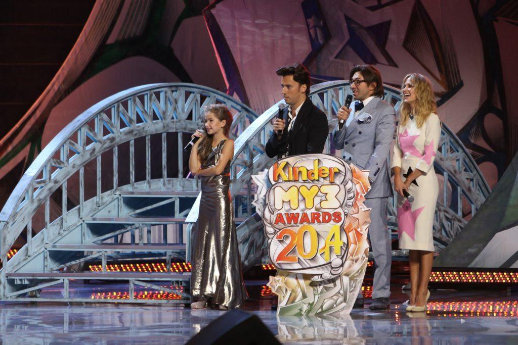 Александра Абрамейцева — победительница Детской Премии «Kinder Муз Awards»