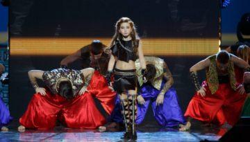 Александра Абрамейцева выступила на сцене Государственного Кремлевского Дворца.